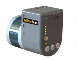 Capteur Lidar YellowScan Surveyor pour drones