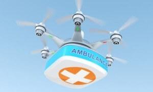 Drones livrant des colis