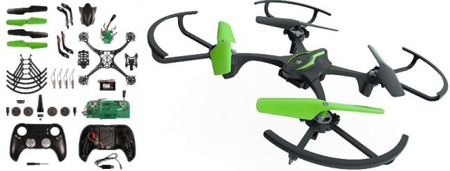 Kit de bricolage pour drone cascadeur éducatif Sky Viper e1700
