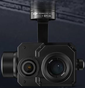 Caméra thermique DJII Zenmuse XT2 par FLIR