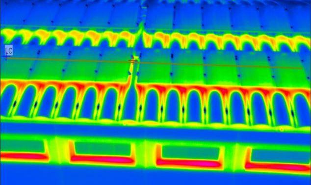 Image thermique de la caméra Heat Vision
