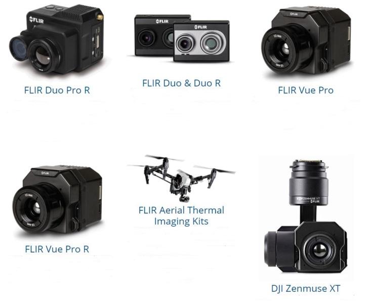 Solutions de caméras thermiques de FLIR
