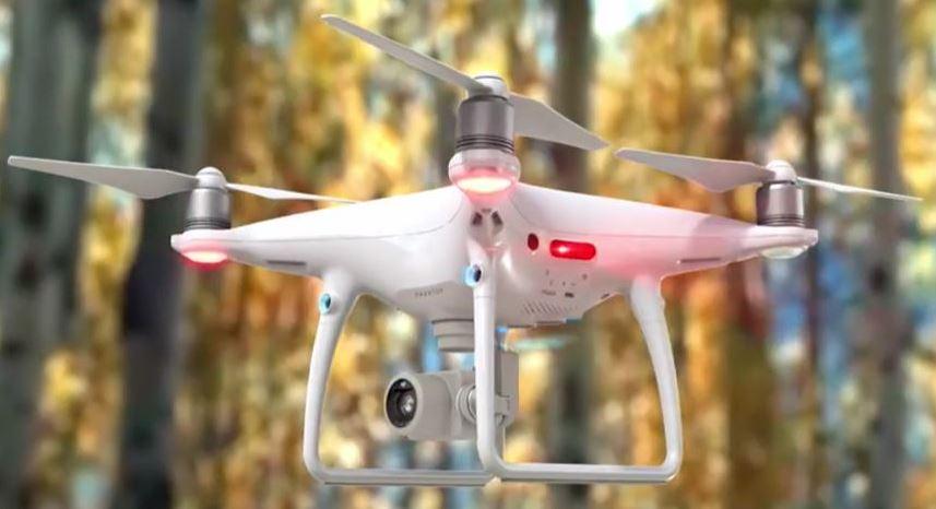 Le drone DJI Phantom 4 Pro V2.0 présente les caractéristiques et l'examen