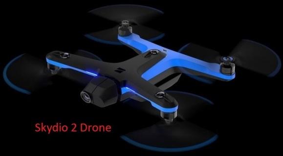 Le drone Skydio 2 qui vous suit