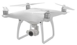 Phantom 4 avec stabilisation de drone à six axes