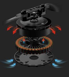 Direction du moteur quadricoptère