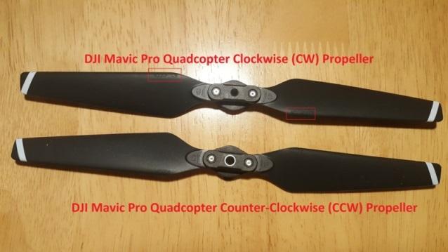 Hélices Quadcopter CW et CCW