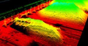 Drone avec flash lidar ToF Capteur de caméra d'imagerie en profondeur Mesure du volume de stockage